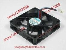 NMB-MAT 2806GL-04W-B59 T61 DC 12V 0.30A 3-Wire 70x70x15mm Server Cooler Fan
