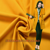 High Quality 150*50cm 1pc Yellow Wool Fabric Cashmere Fabric Coat Fabric Sewing Material DIY Man/Women Fashion Winter Coat&Suit