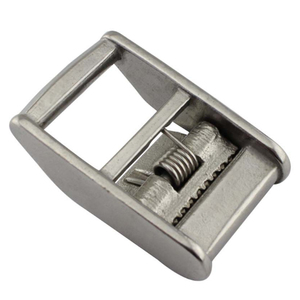 Heavy Duty Stainless Steel Cam Buckle for Tie Down Strap 25mm/1' Marine Hardware cam boucle Hebilla de leva