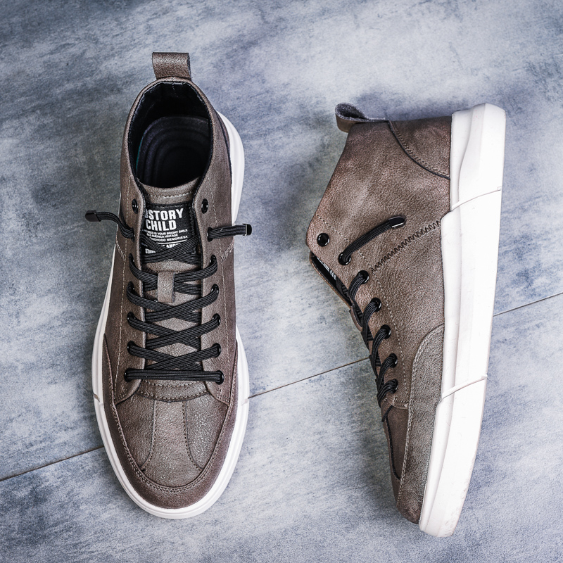 2019 New Men's Shoes Sneakers High Quality Men Casual Shoes Fashion Wild Breathable Lace Up Flats Male Shoes  Tenis Masculino-in Men's Casual Shoes from Shoes    1