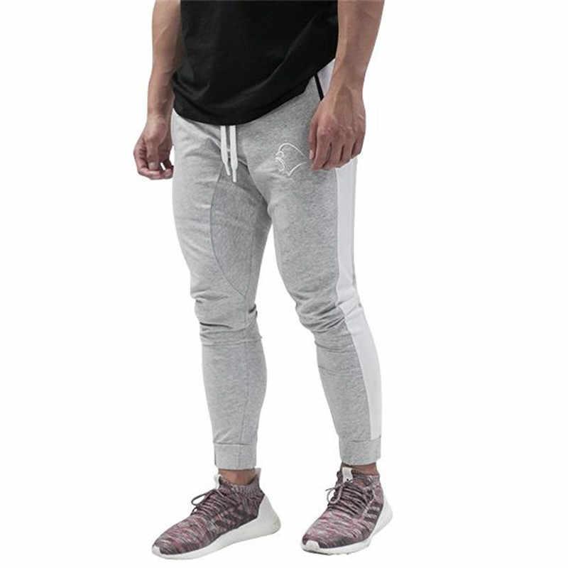 Для мужчин брюки для девочек Новинка 2018 года боковой полосой дизайн s джоггеры повседневное дамские шаровары мальчико