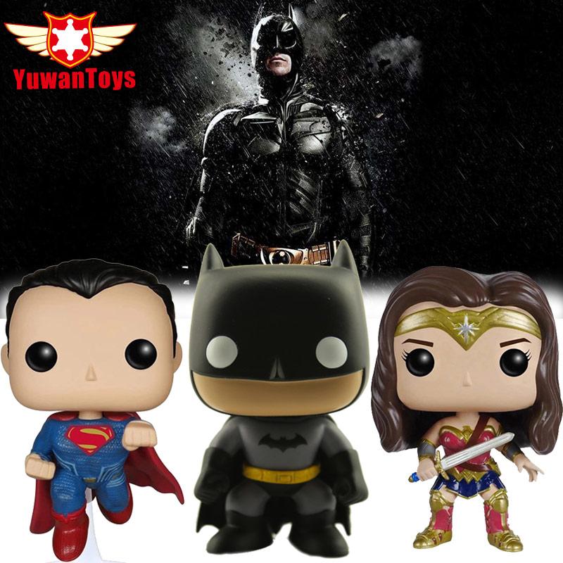 Hot DC Universe Comics KINGHTMARE Batman Action Figures Superman WONDER WOMAN THE HOKER Action Figure Bobble Head Q Edition