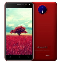 VKworld F2 Smartphone 3G 5.0 pouce Android 6.0 MT6580A Quad Core Mobile téléphone 1.3 GHz Dual SIM 2 GB RAM 16 GB ROM Téléphone portable OTA FM