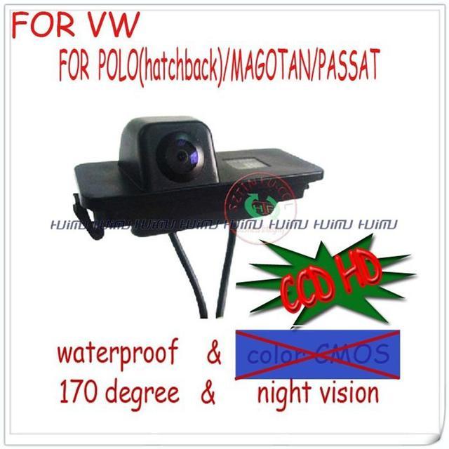 wireless wired LED CCD HD Car Rear View Camera for POLO(hatchback)/MAGOTAN/PASSAT CC/GOLF/BORA/JETTA/SKODA SUPERB/BEETLE/PHAE