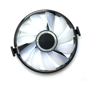 Image 3 - New FDC10U12S9 C PC Cooler Fan Replace For XFX AMD Radeon R7 370 RX 470 480 570 580 RX460 RX 460 Graphics Card GPU Cooling Fan
