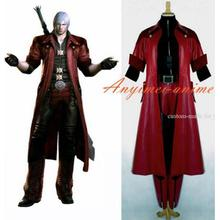 Devil May Cry DMC Dante Suit Jacket Coat Cosplay Costume