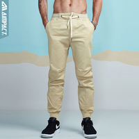 Aimpact 2017 New Men S Casual Pants Fashion Chino Jogger Pant Man Cotton Slim Fitted Trace
