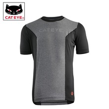 CATEYE Bicycle Cycling Jersey Mens Breathable Quick Dry Sport Sweatshirt Short Sleeves MTB Summer Shirts Jersey Clothing