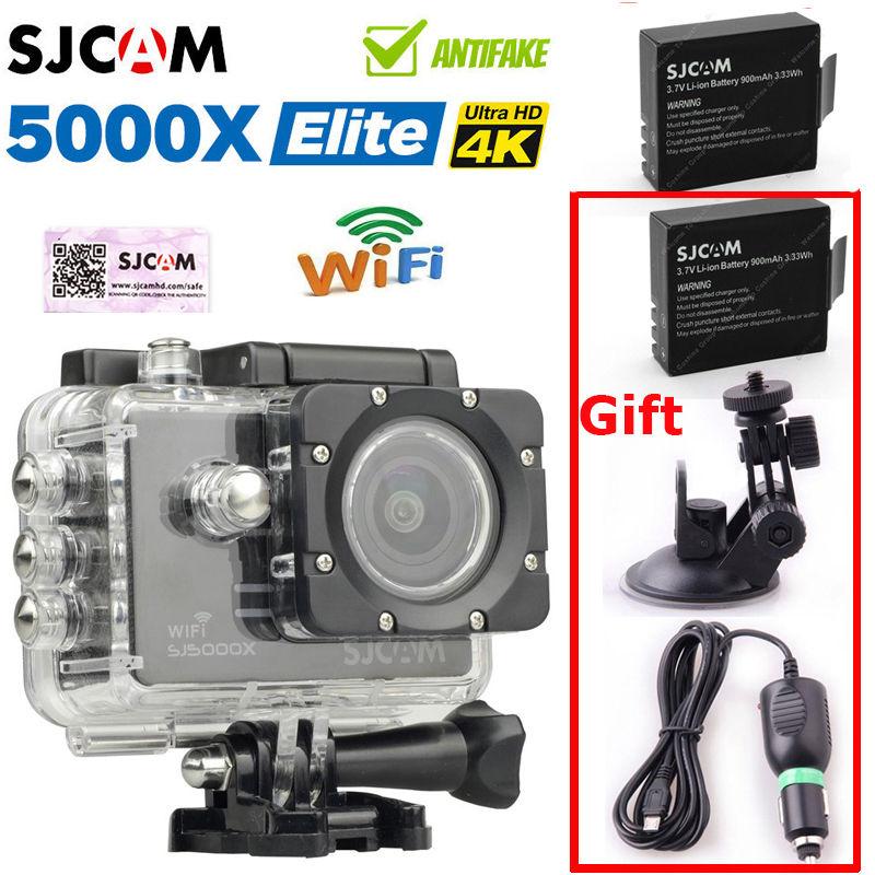 SJCAM SJ5000X Elite 4K 24 IMX078 2 0 LCD Screen WiFi Video Record Action font b