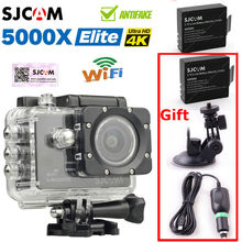SJCAM SJ5000X Elite 4K 24 IMX078 2.0″ LCD Screen WiFi Video Record Action Camera+Charger/Bracket/Battery
