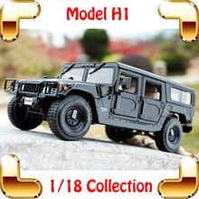 Подарок на год H1 1/18 огромный грузовик модель автомобиля внедорожник сильный дизайн металлический автомобиль коллекция про автомобиль подарок фанов игрушечные джипы подарок