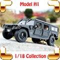 Nuevo regalo de la llegada Maisto H1 1/18 enorme del coche modelo de camión SUV diseño fuerte del vehículo de Metal colección Pro aficionados a los coches presente juguetes