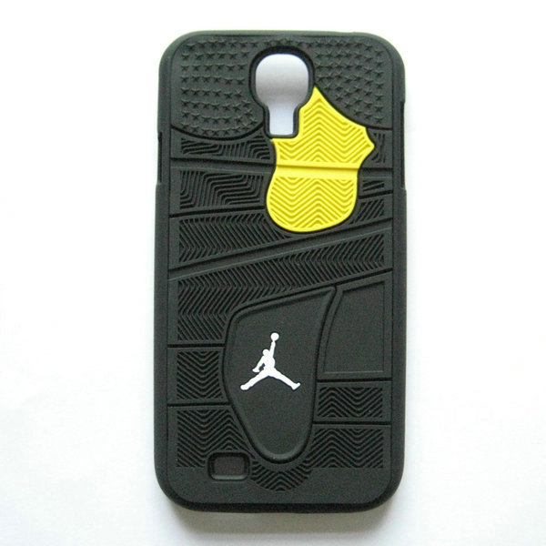 the latest cf5a7 85291 PVC Rubber Jordan Case for Samsung Galaxy S4 I9500 Shoe Sole Bottom 3D Back  Cover for Galaxy S IV on Aliexpress.com   Alibaba Group