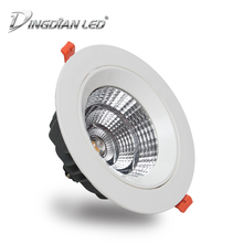 COB Downlight Modern Indoor Spot LED Light AC220V 5W 7W 10W 15W 20W Recessed Cold White Kitchen Bedroom Cabinet Downlights