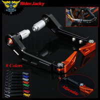 7 8 Adjustable Motorcycle HandleBar Grip Motorbike Brake Clutch Lever Protector Guard For KTM 1290 Super