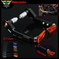 7 8 Adjustable Motorcycle HandleBar Grip Motorbike Brake Clutch Lever Protector Guard For KTM 1290 Super