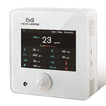 MCOHOME Z Wave 9 in1 Multi sensor A8 9 built in Temperature/Humidity/PM2.5/PIR/illumination