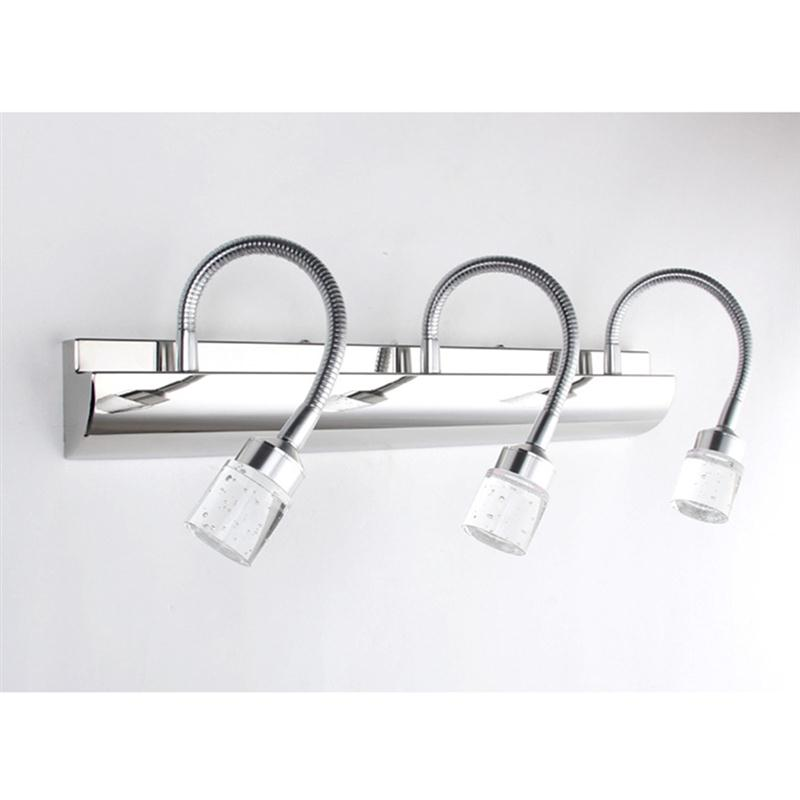 Bathroom Light Fixtures Stainless Steel online shop crystal bathroom light fixtures stainless steel led