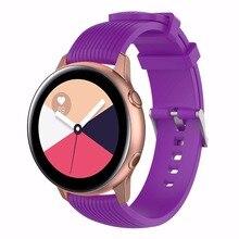 Silicona deportes correa de reloj para Samsung Gear deporte/S2 clásico huawei watch2/watch2 pro Samsung galaxy watch activo correa de reloj
