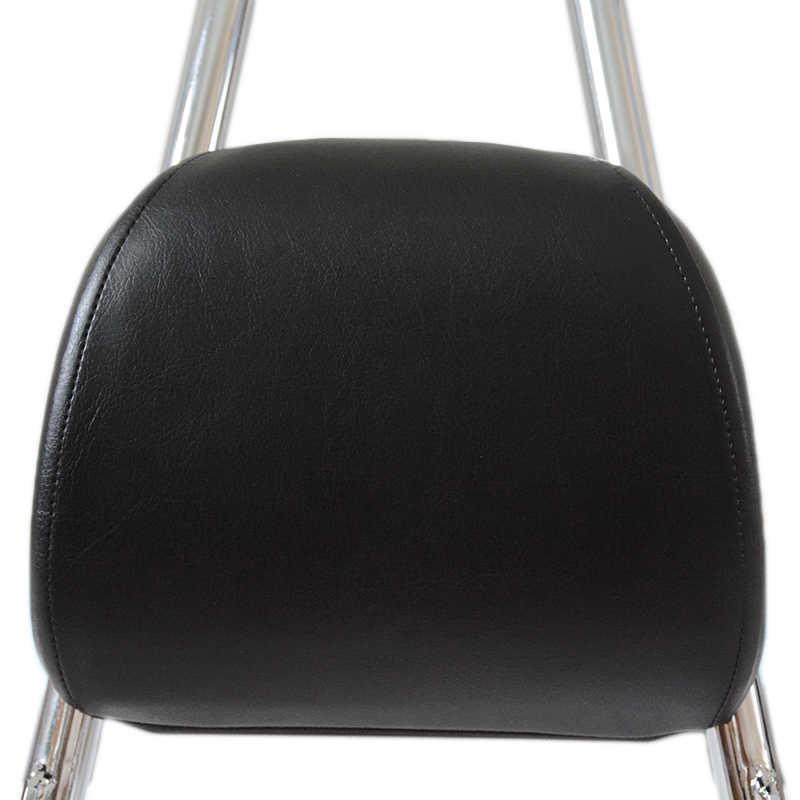 Хромированная Съемная стойка для пассажира, подушка для спинки для Harley-Davidson Sportster 1200 883 XL 04-UP