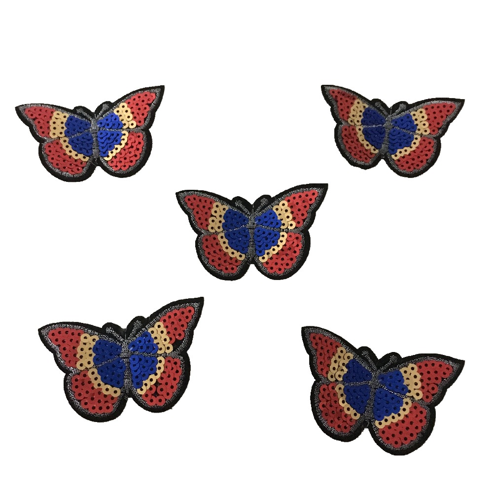 Sequins Πεταλούδα πεταλούδα για IKids Ρούχα - Τέχνες, βιοτεχνίες και ράψιμο - Φωτογραφία 2