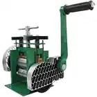 Máquina de laminación combinada rodillos metálicos manuales diseños de aplanamiento herramientas para hacer joyas herramientas - 2