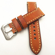 Wholesale 10PCS/lot 20MM 22MM 24MM 26MM genuine leather Cow Watch band watch strap man straps -171121WS