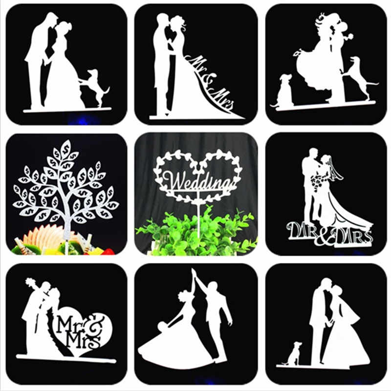 Cake Topper Wedding Party Supplies Bride And Groom Cake Topper Wedding Decorations Cupcake Toppers Mr Mrs Wedding Cake Topper