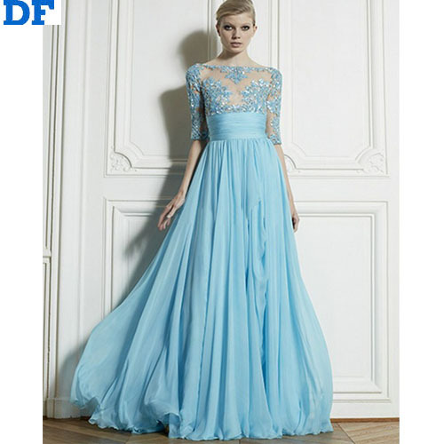 Aliexpress.com : Buy Lace Chiffon Maxi Dress 2016 Women Backless ...