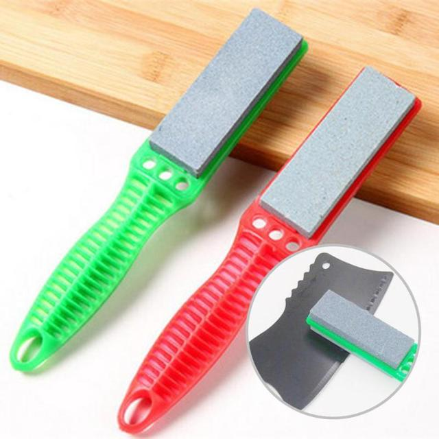 Kitchen Knife Sharpening Stone Home Depot Cabinet Sale Double Sides Sharpeners Household Sharpener Knives Tools With Handles