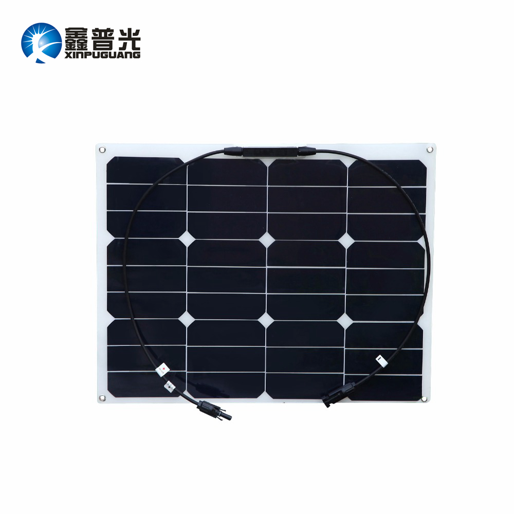 Xinpuguang 40W 20V Flexible Solar Panel Quality Cell Module with MC4 Connector for 12V Battery Charger Usb Car LED Light Boat bike light 3800lm t6 led flashlight tactical flashlight led torch lamp light 18650 battery charger holder hiking camping