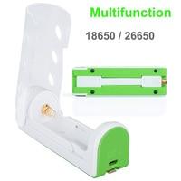 Multifunctionele 18650 Acculader Power Bank 26650 Batterij Zaklamp Lader Beschermd 4.2 V voor 3.7 v Li Ion 18650 lithiu|Draagbare verlichting Accessoire|   -