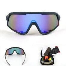 S2 поляризованные 3 линзы велосипедные солнцезащитные очки UV400 Outdoor100 спортивные % очки MTB для велоспорта очки велосипедные солнцезащитные очки