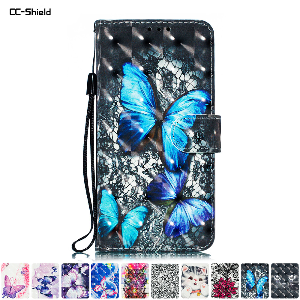 Flip Case for Huawei P30 P 30 Global ELE-L29 ELE-L04 ELE-L09 Case 3D Phone Leather Cover For Huawei ELE L29 L04 L09 Cases Bag