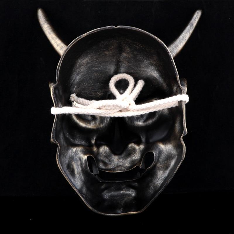 Тегін жеткізу Resin Hannya Mask Carnival Halloween - Костюмдер - фото 6