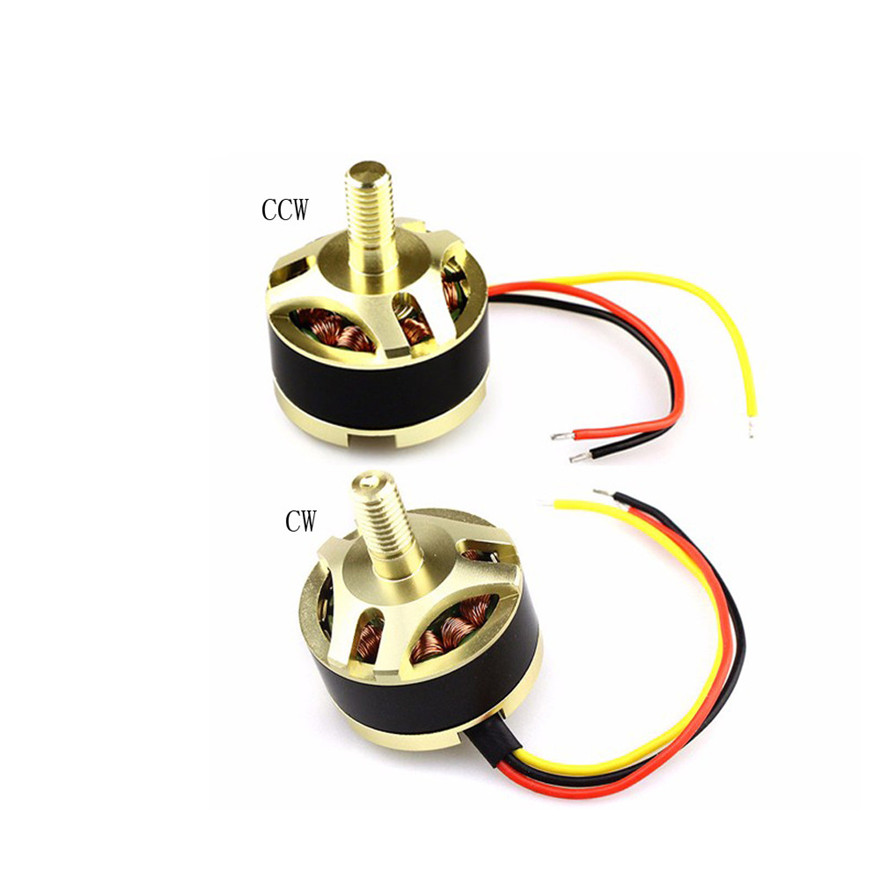 Drone Motor Accessories 7.4V 1806 1650KV CW/CCW Brushless Motor For Hubsan X4 H501S H501A H501C MAY 28