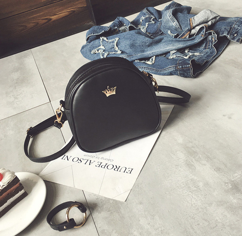 Mara's Dream 2019 Fashion Women Handbag Messenger Bags PU Leather Shoulder Bag Lady Crossbody Mini Bag Female Crown Evening Bags 2