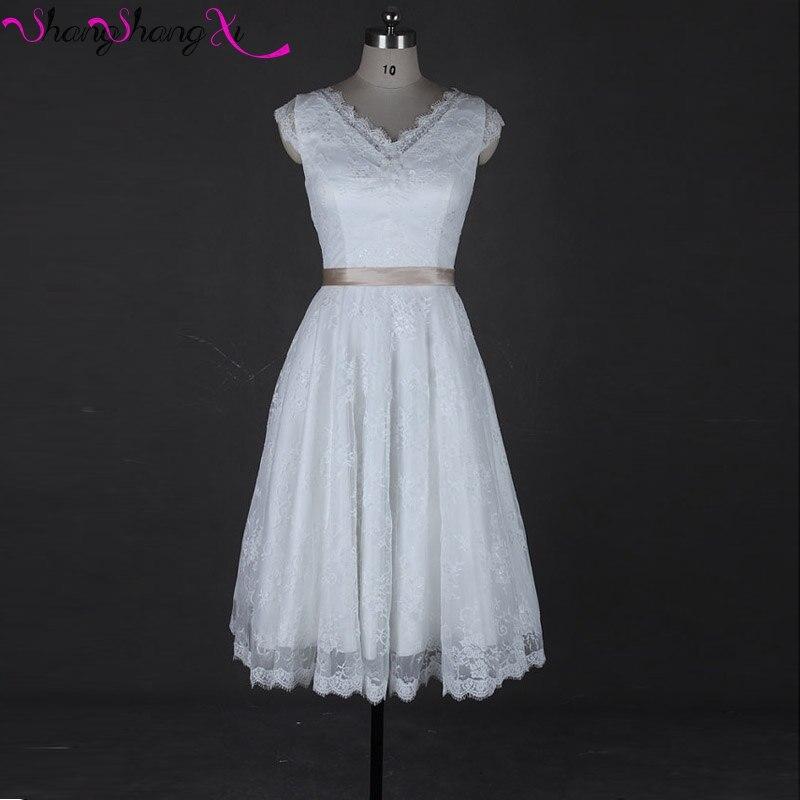 Aliexpress.com : Buy Romantic 1920s 1950s Vintage Short Wedding ...