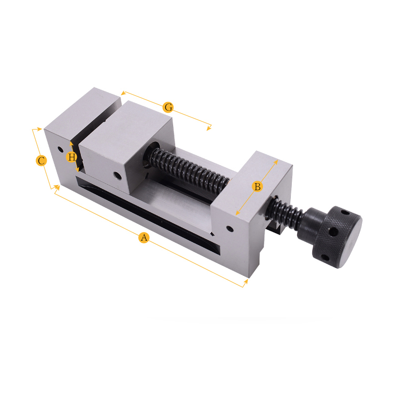 2 High Precision Machine Vise HRC48 52 CNC Machine Vise For Surface Grinding Milling EDM Machine