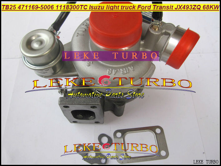 TB25 471169-5006 471169-0006 471169 5006 1118300TC Turbo Turbocharger For FORD JMC Transit For ISUZU Light Truck JX493ZQ1 68KW