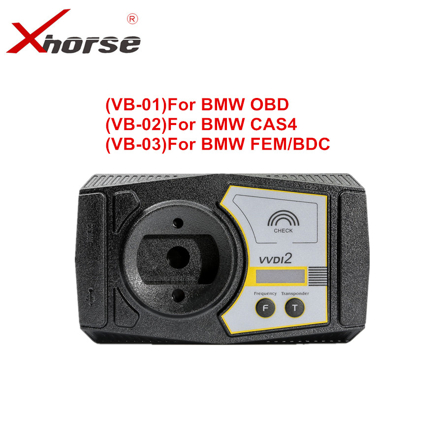 VVDI2 For BMW OBD + For BMW CAS4 +For  BMW FEM Functions Authorization Service (Not include device)Auto Key Programmers   -