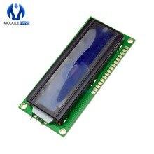 Модуль цифрового ЖК-дисплея 16X1, светодиодный модуль LCM STN SPLC780D KS0066 с подсветкой, 16 Однорядная интерфейсная плата
