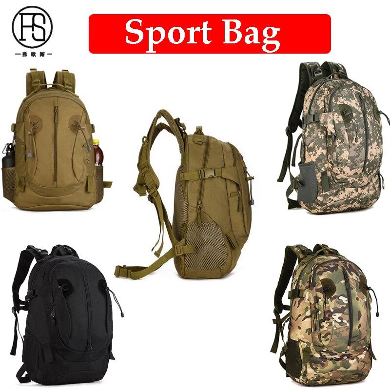 Sac à bandoulière de sport de plein air de grande capacité sac à dos de voyage de randonnée sac à dos de Camouflage militaire