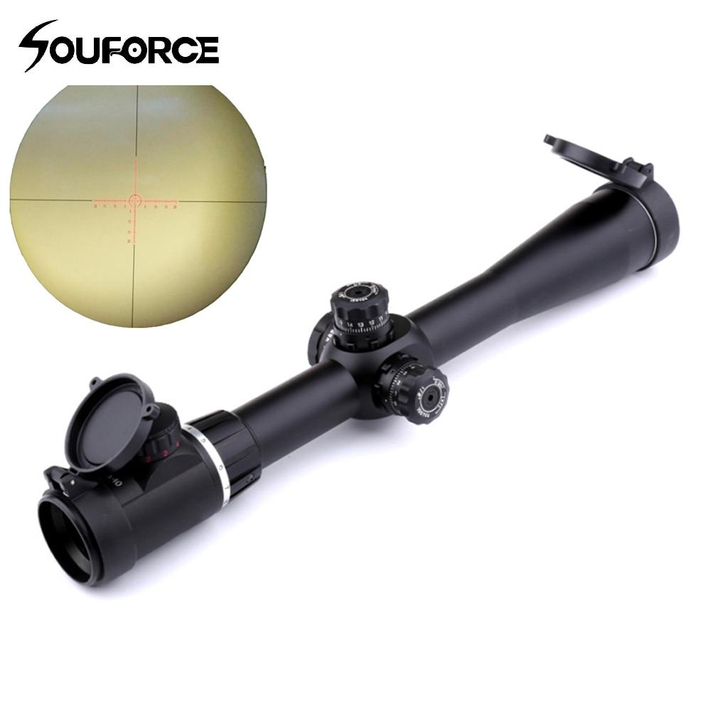 Riflescope 4-14x40SFVF Green/Red/Black Mil Dot Optical Sight Scope for 20mm Rail Mount Optics Sight for Hunting 1 x 33mm red green light dot bird sight scope for dslr black 1 x cr2032