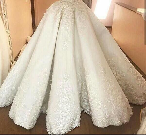 A line Half Sleeves o Neck Heavy Beadings Prom DressesEvening Gown