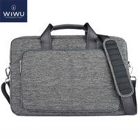 WIWU 17 inch Laptop Bag for MacBook 13 15 17 Case for Xiaomi Notebook Air 13.3 Laptop Messenger Bag for Lenovo Computer Bag 17.3