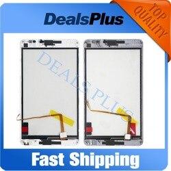 Wymiana nowy ekran dotykowy z ramką dla Huawei Mediapad M1 8.0 S8 306L S8 301L S8 301u 8 cal biały szary w Ekrany LCD i panele do tabletów od Komputer i biuro na