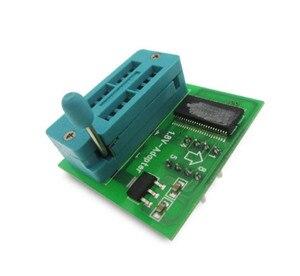 Image 1 - 10 PÇS/LOTE 1.8 V adaptador para Iphone ou motherboard 1.8 V SPI Flash SOP8 DIP8 W25 MX25 uso em programadores TL866CS TL866A EZP2010