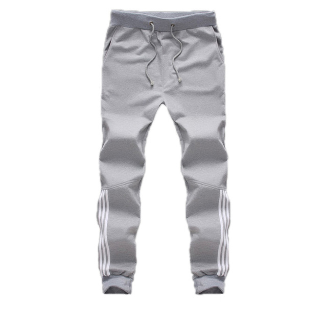 2018 New Fashion Tracksuit Bottoms Mens Casual Pants Cotton Sweatpants Mens Joggers Striped Pants Gyms Clothing Plus Size 5XL 1