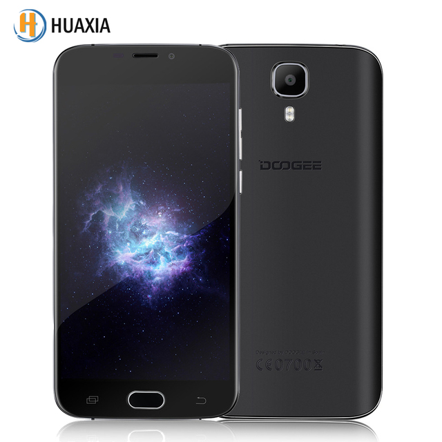 Original Doogee X9 Mini 5.0 inch 1GB RAM 8GB ROM MT6580 Quad Core Android 6.0 3G WCDMA Smartphone 2000mAh 5MP Mobile Cell Phone
